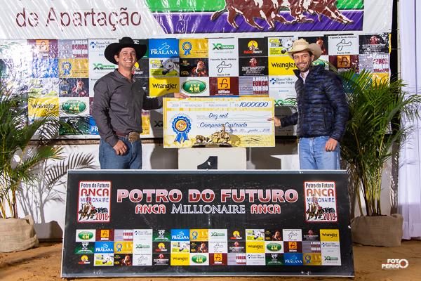 Ganhadores Fundo Millionaire 2018 - Aberta Castrado