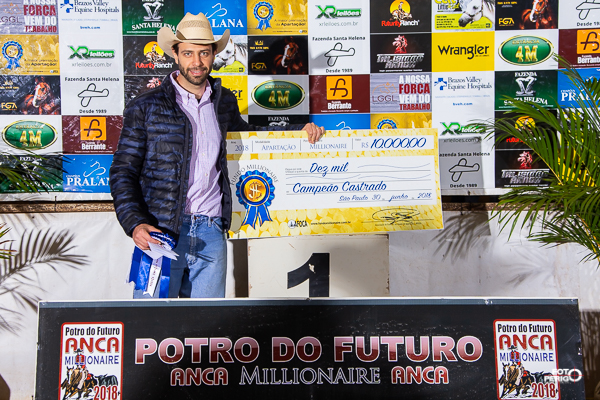 Ganhadores Fundo Millionaire 2018 - Amador Castrado