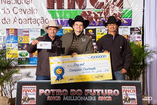 Ganhadores Fundo Millionaire 2018 - Non Pro Castrado
