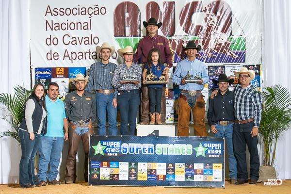 [Imagem: Campeões Super Stakes ANCA 2018 Aberta]