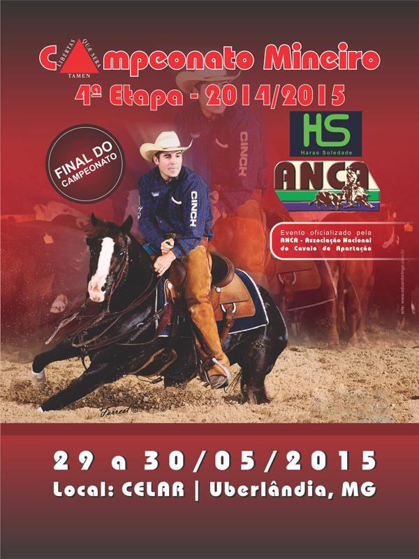 4ª Etapa Campeonato Mineiro 2014/2015 ANCA/HS