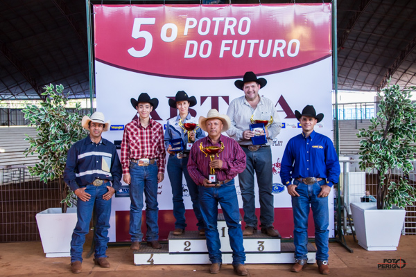 Campeões 5º Potro do Futuro ABTCA Non Pro