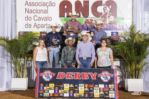 [Imagem: Campeoes Derby Classic ANCA 2016 Aberta Limitada]