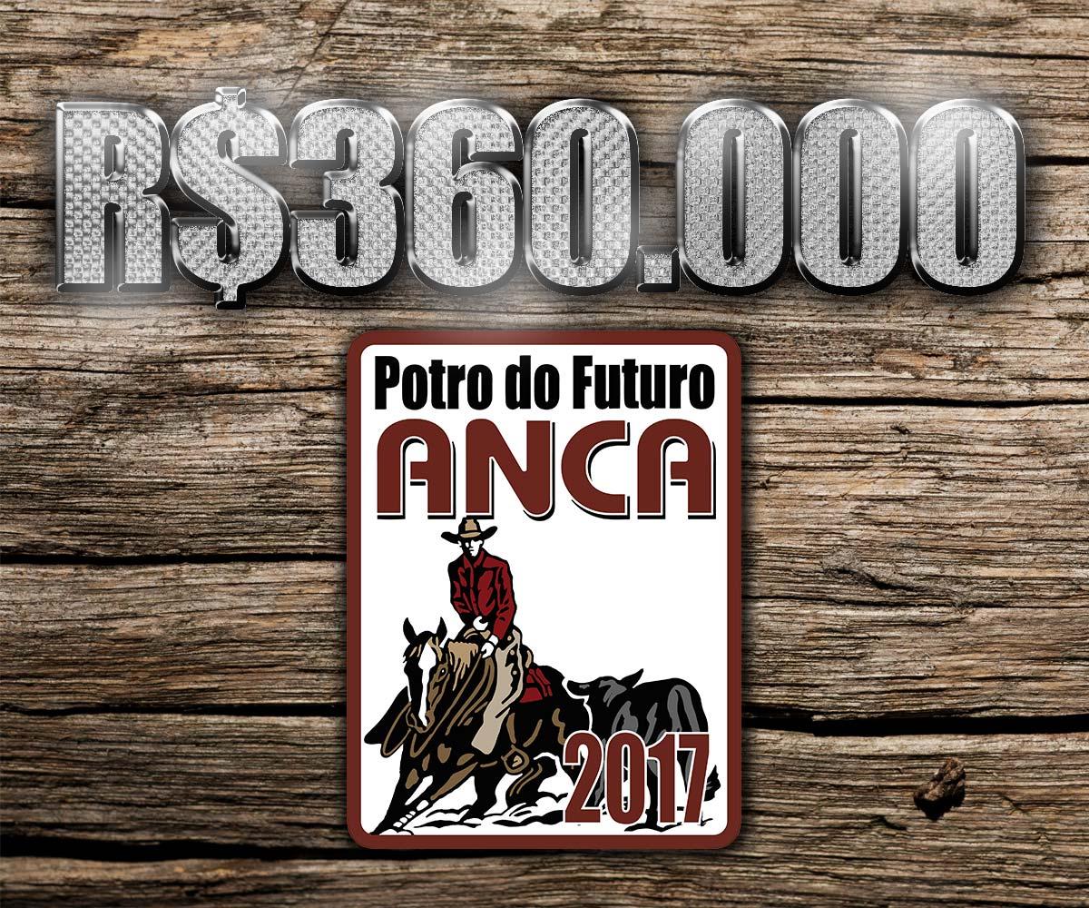 R$360.000 de premiação no Potro do Futuro ANCA 2017
