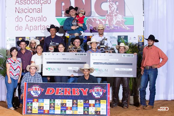 Campeões Derby Classic ANCA 2019 Aberta