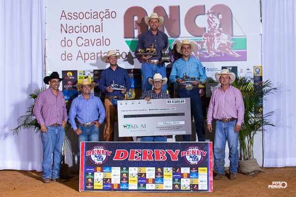 Campeões Derby Classic ANCA 2019 Amador