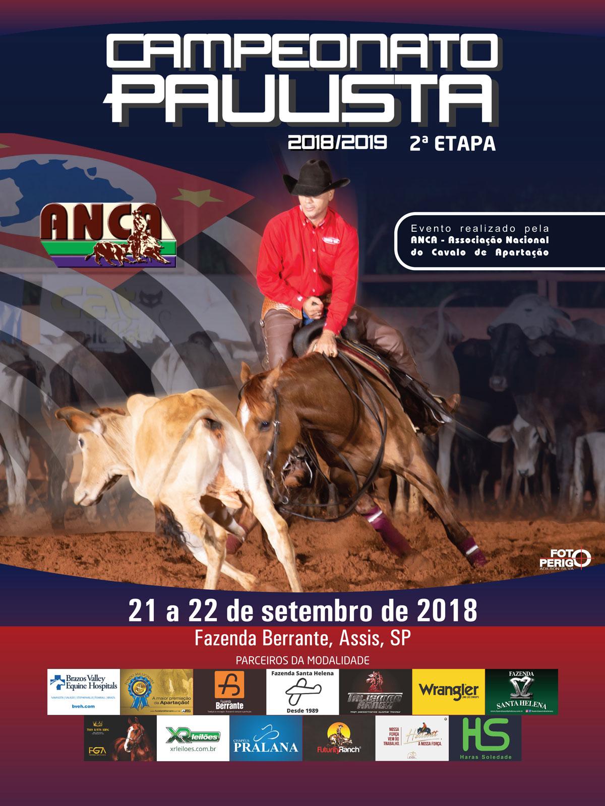 Campeonato Paulista ANCA 2018/2019 - 2ª Etapa