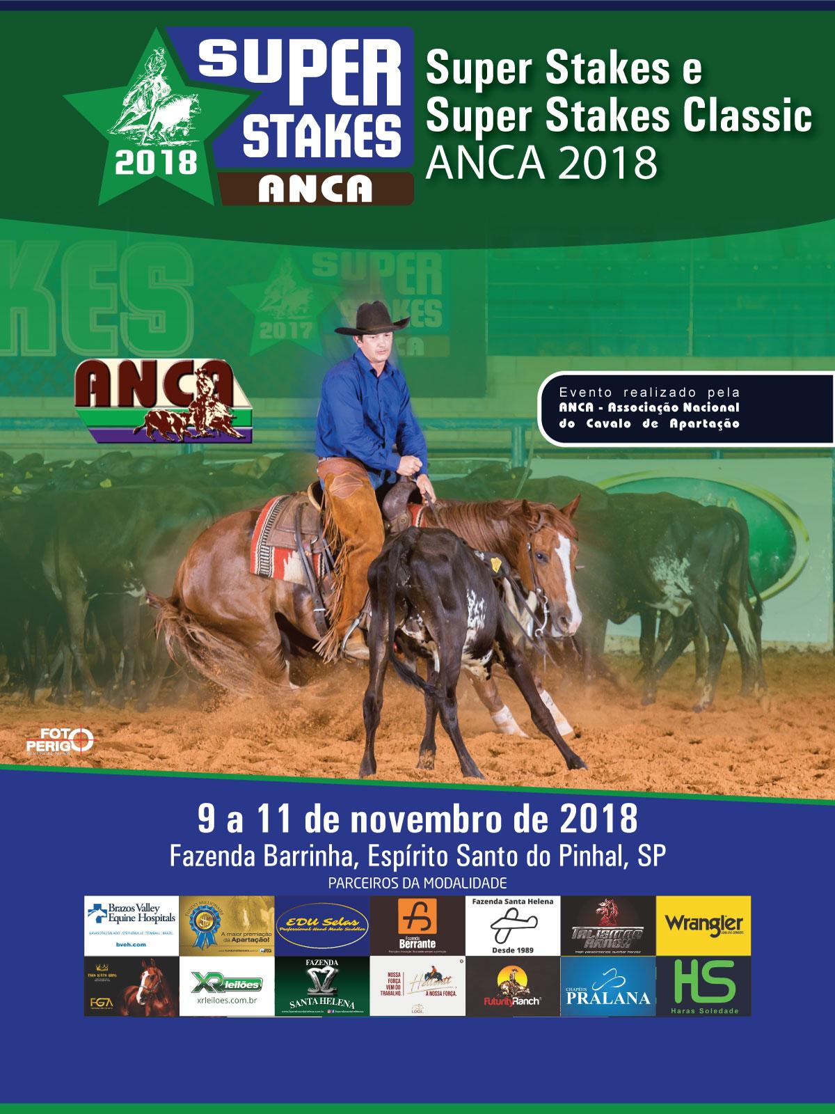 Super Stakes e Super Stakes Classic ANCA 2018