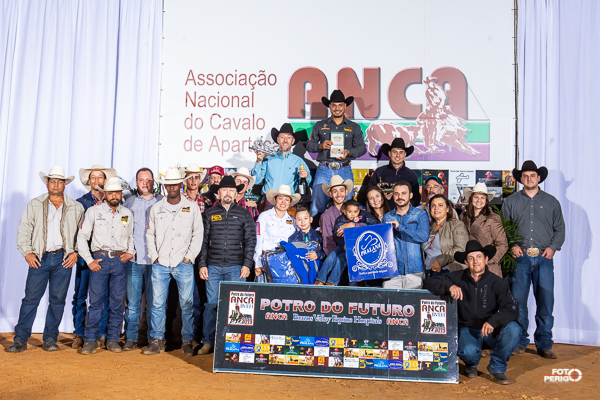 Campeões Potro do Futuro ANCA BVEH 2019 Aberta