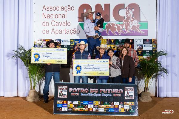 Potro do Futuro ANCA BVEH 2019 - Campeão Aberta Castrado Fundo Millionaire
