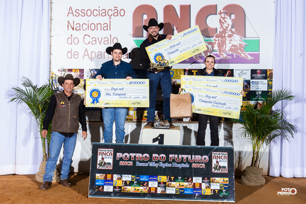 Potro do Futuro ANCA BVEH 2019 - Campeões Amador Fundo Millionaire