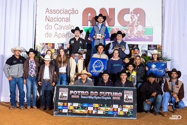 Campeões Potro do Futuro ANCA BVEH 2019 Non Pro