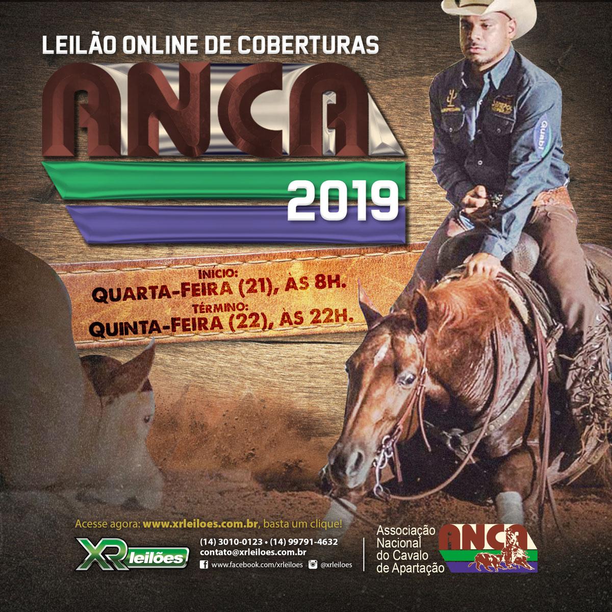 Leilão de Coberturas ANCA 2019