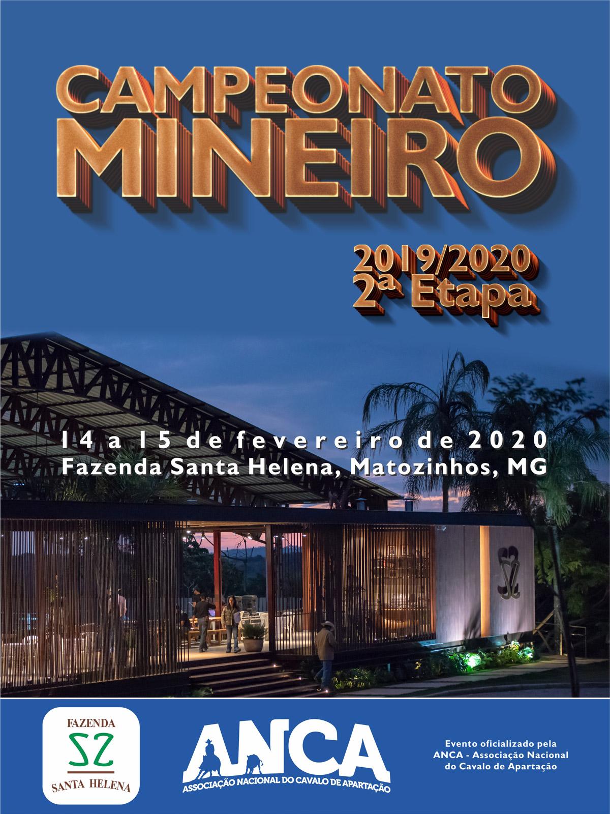 Campeonato Mineiro 2019/2020 - 2ª Etapa
