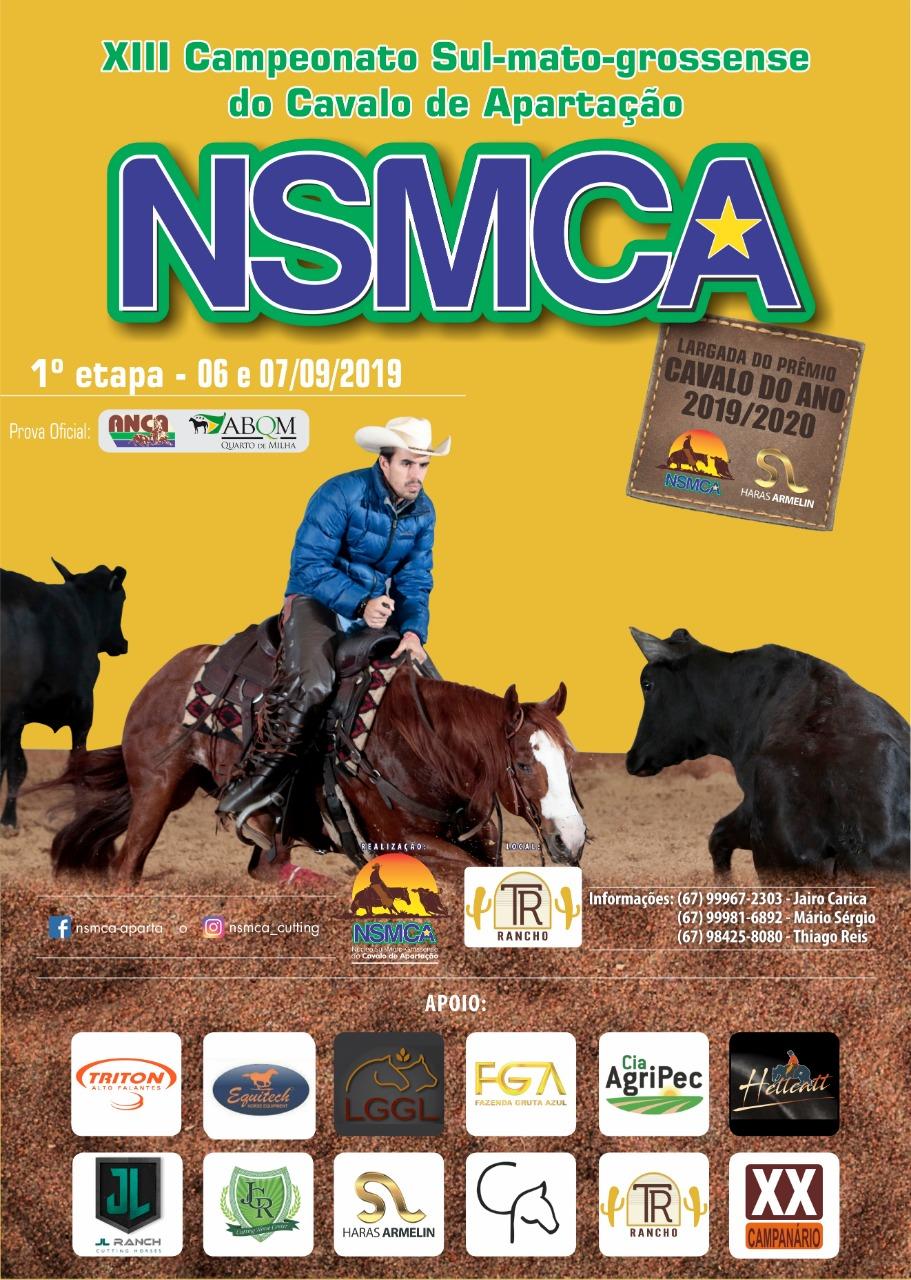 Campeonato Sul Matogrossense NSMCA 2019/2020 - 1ª Etapa