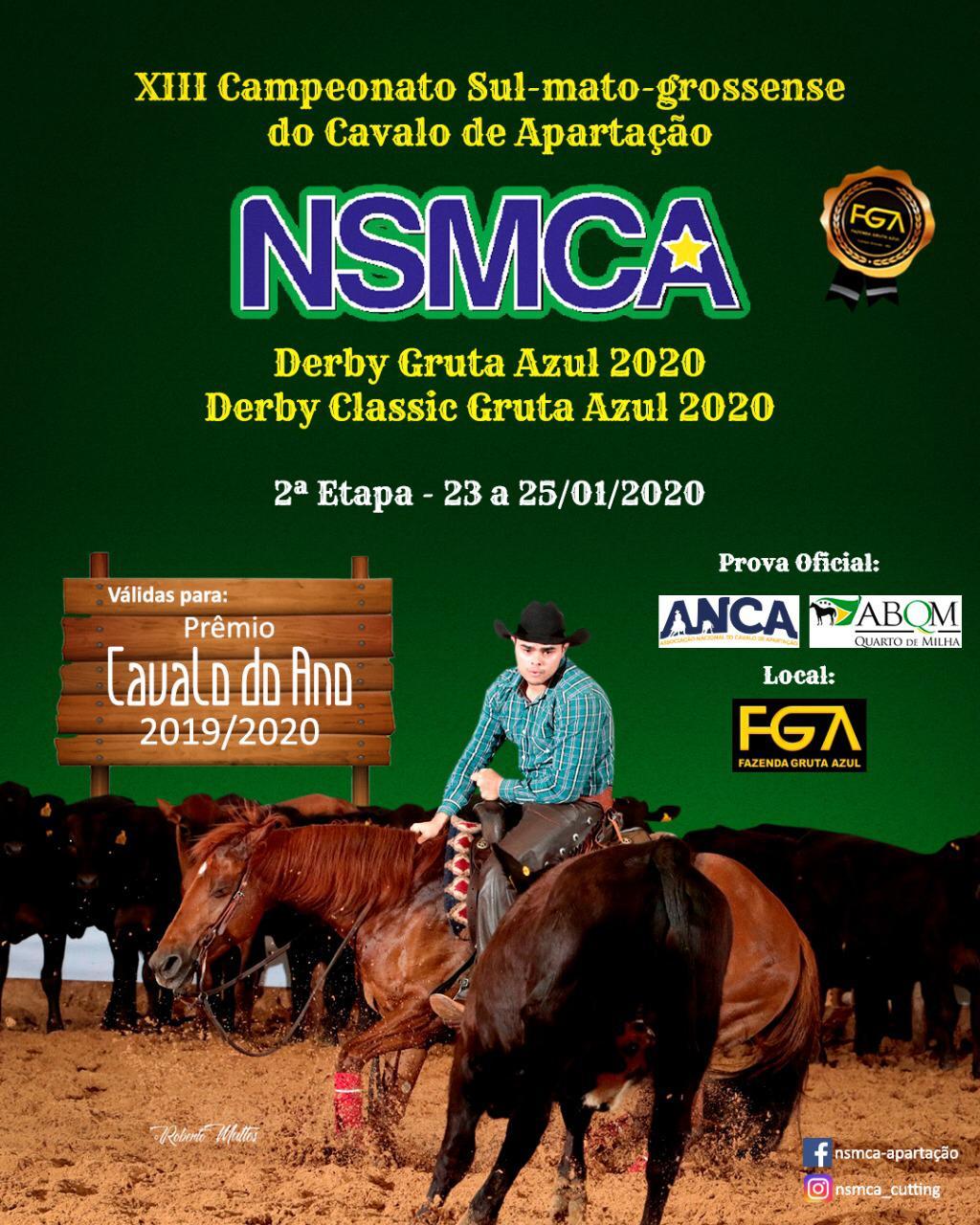 Campeonato Sul Matogrossense NSMCA 2019/2020 - 2ª Etapa