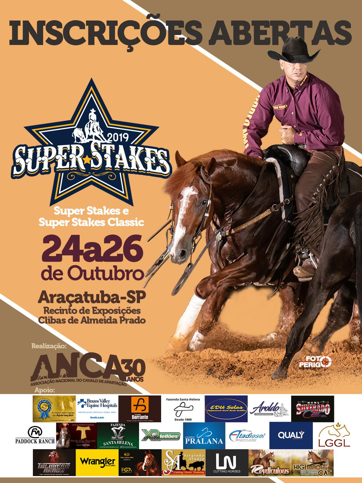 Super Stakes e Super Stakes Classic ANCA 2019